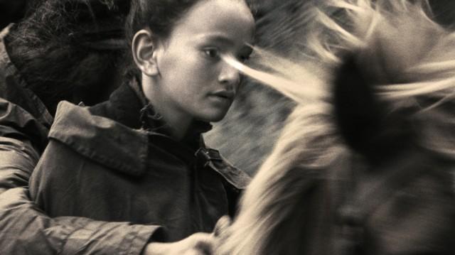 Young Puhi on horseback