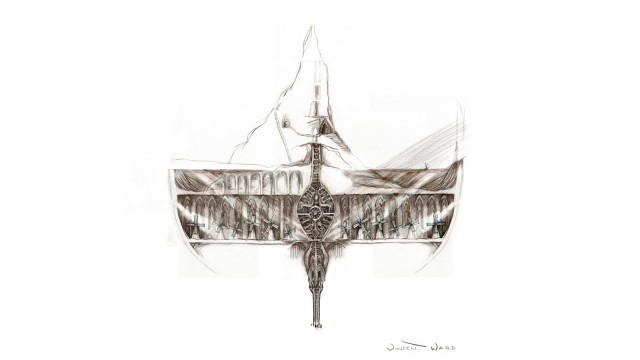 One of Ward's sketches for Arceon